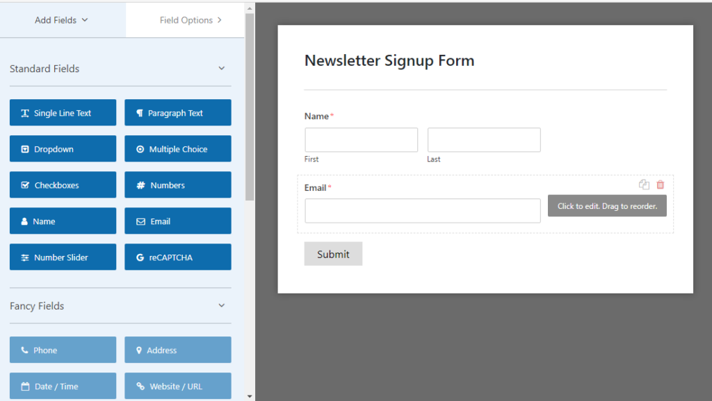 WordPress Sign up Form featured image