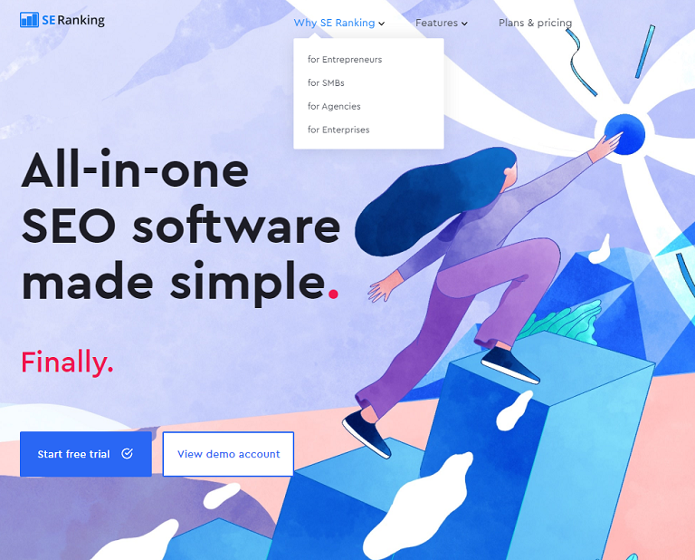 SE Ranking All-in-one SEO
