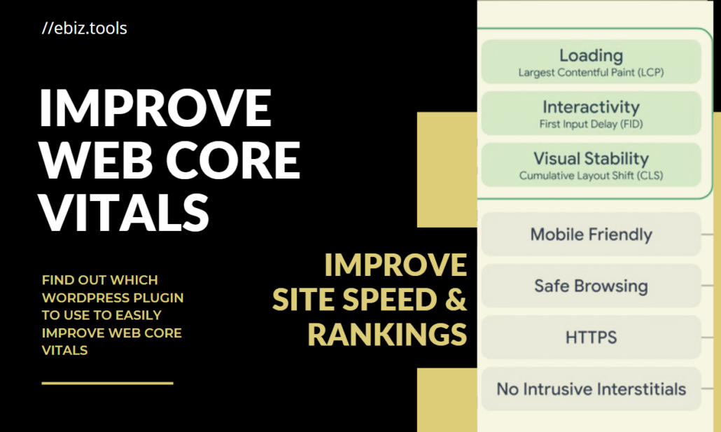 Improve Web Core Vitals