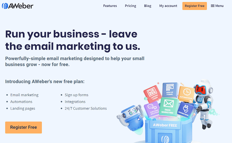 Run your business leave the email marketing to us