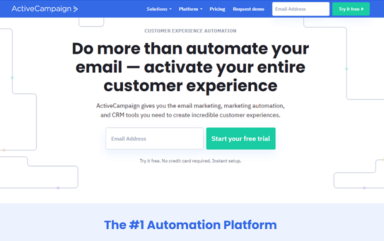 Do more than automate your email. Activate your entire customer experience