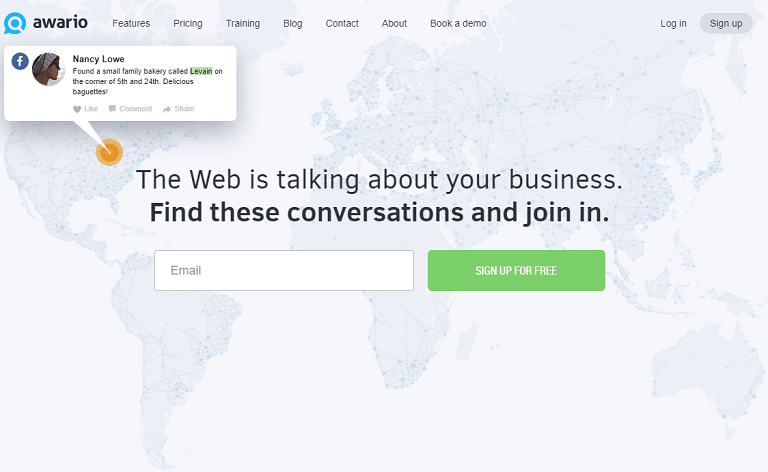 The web is talking about your business. Find these conversations and join in.