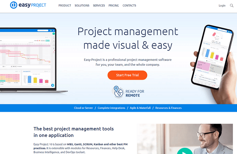 Project management made visual and easy
