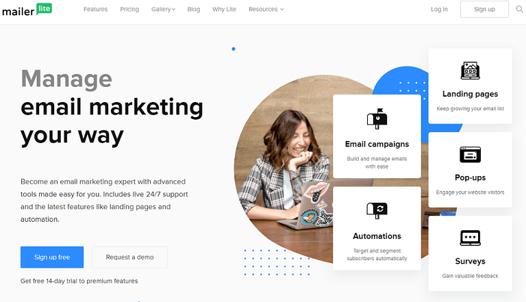 Manage email marketing your way