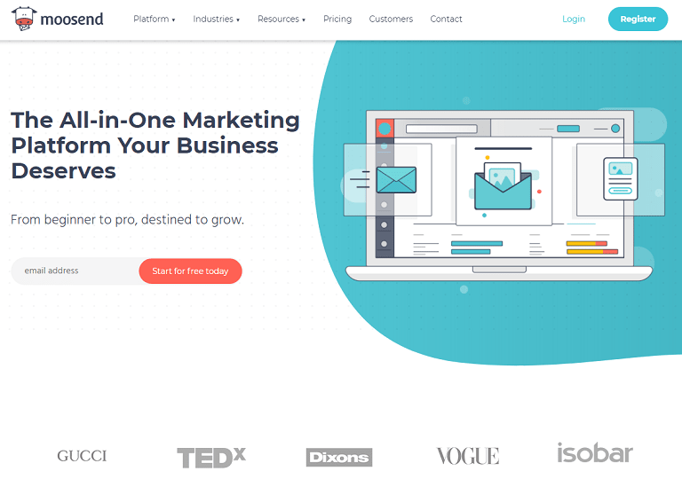 The all-in-one marketing platform your business deserves