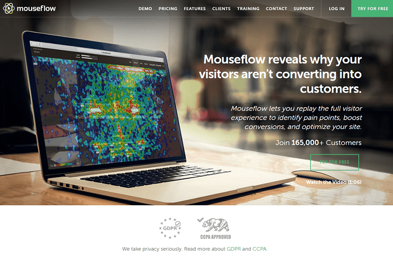 Mouseflow reveals why your visitors aren't converting into customers
