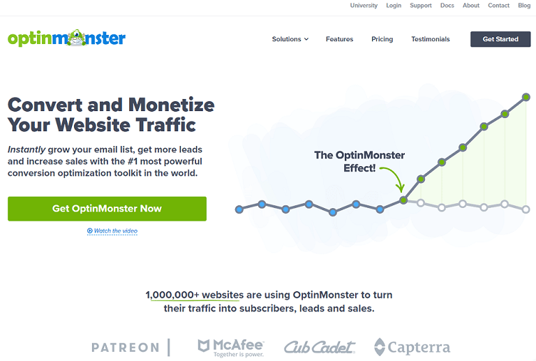 Convert and optimize your website traffic