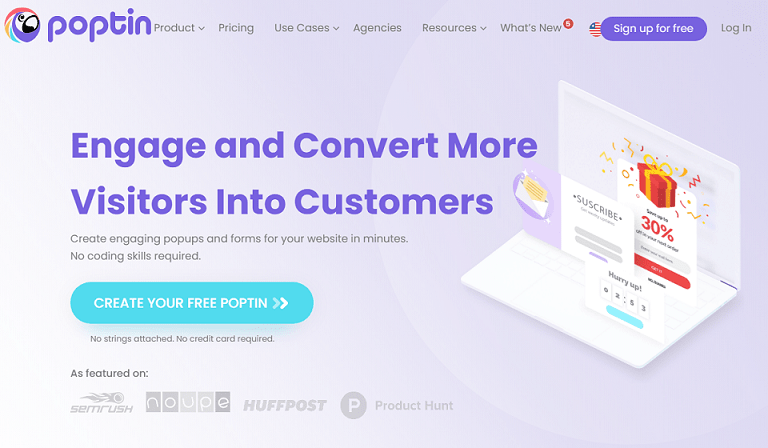 Engage and convert more visitors into customers