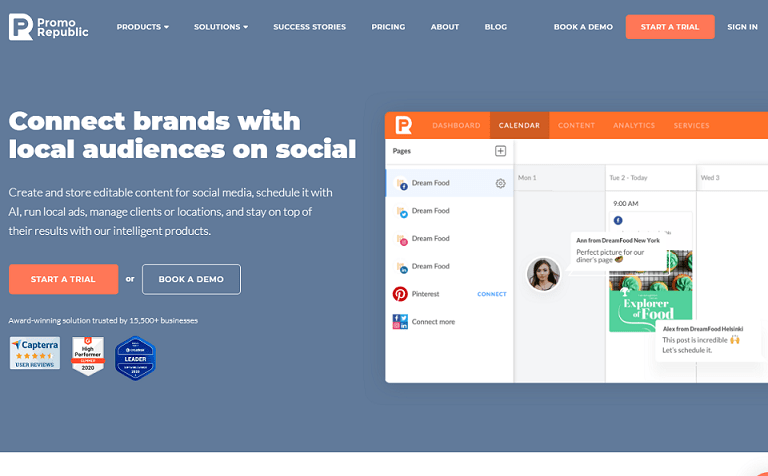 Connect brand0s with local audiences on social