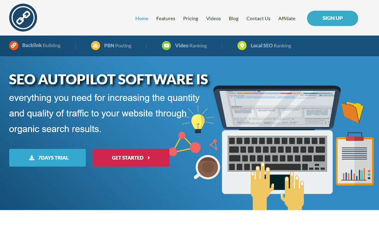 SEO Autopilot software is everything you need for increasing the quality and quantity of traffic to your website