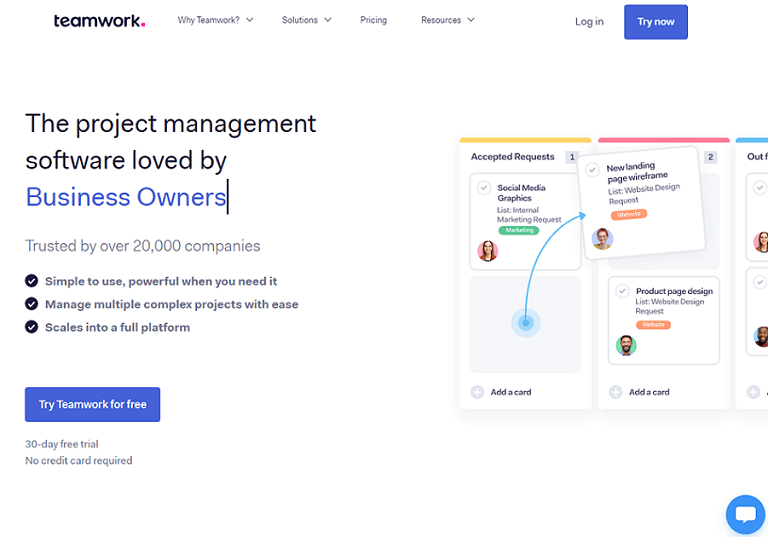 The project management software loved by business owners