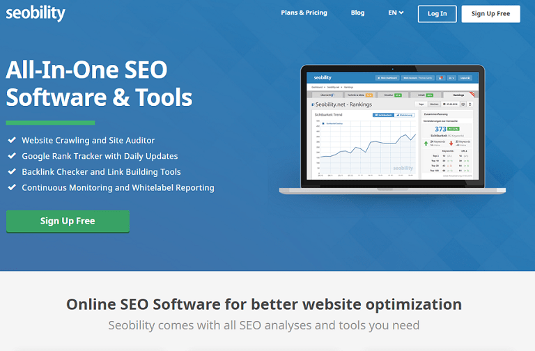 All-in-one SEO Software and tools