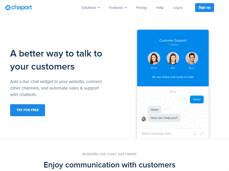A better way to talk to your customers