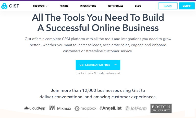 All the tools you need to build a successful online business