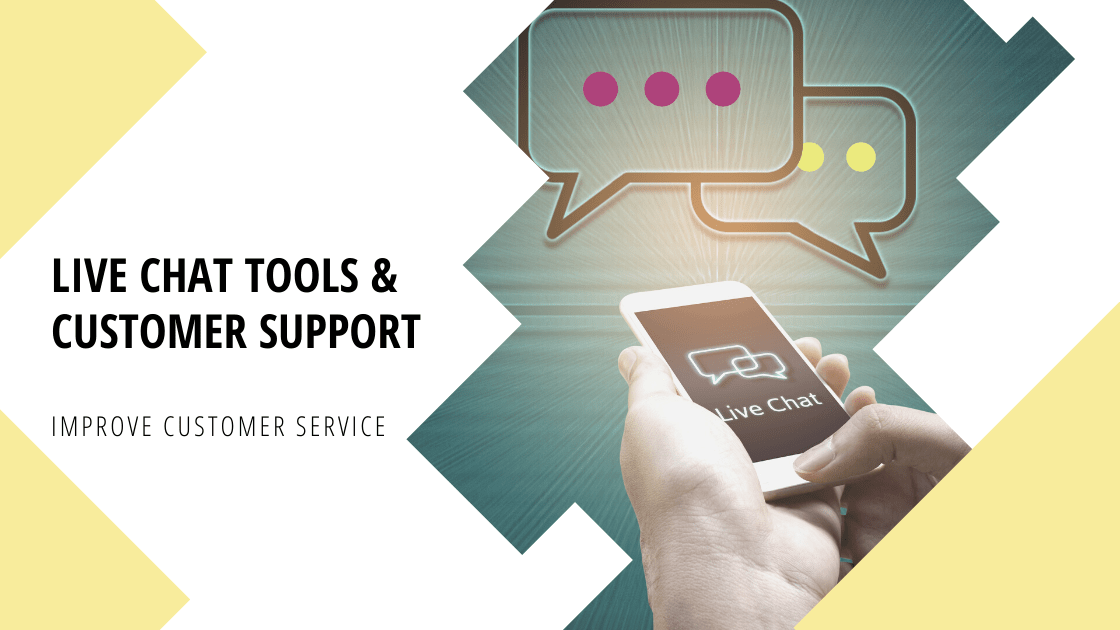 Live chat tools and customer support. Improve customer service