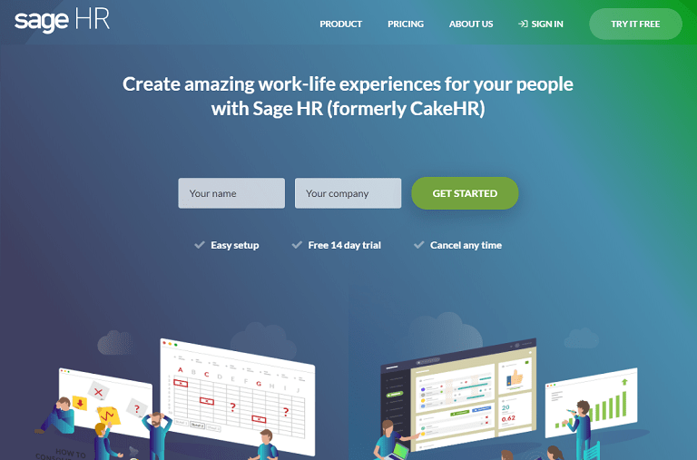 Create amazing work-life experiences for your people with Sage HR