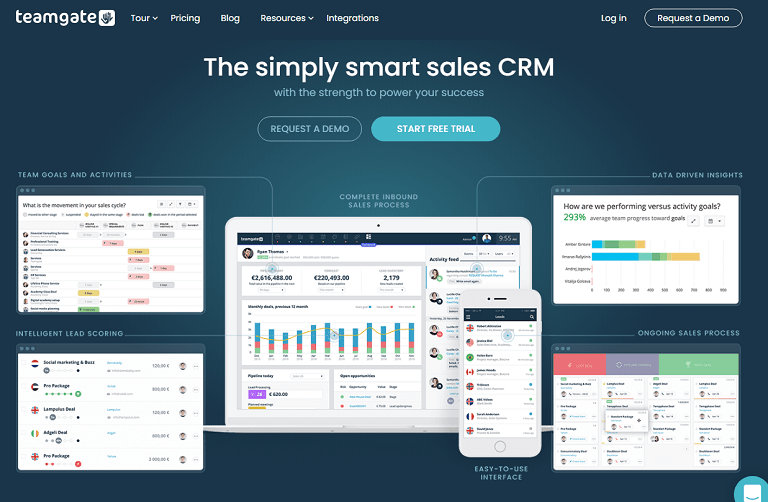 The simply smart sales CRM