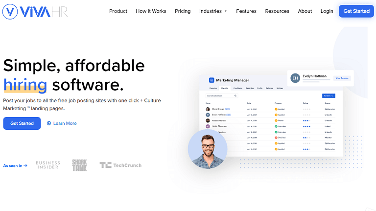 Simple, affordable hiring software