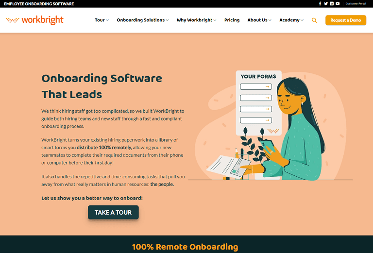 Onboarding Software that leads