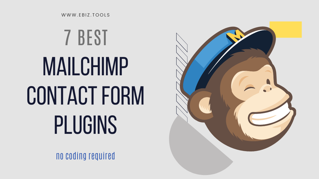 Mailchimp contact form plugins